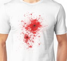 Blood spatter / bullet wound - Costume  Unisex T-Shirt