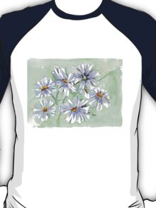 Cosmos in Blue T-Shirt