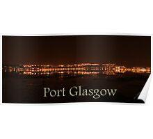 Port Glasgow 4 Poster