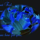 Don't Feel Blue  in Black by Dawnsuzanne