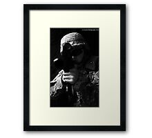 United States Army Soldier Framed Print