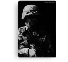 Black Ops No identity Canvas Print