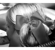 The Hair Bow Photographic Print