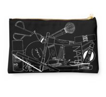 Makeup Bag Innards (black) Studio Pouch
