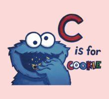 C is for Cookie Monster Kids Tee