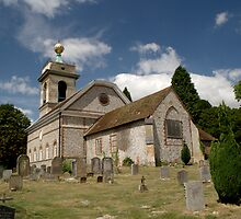 Church of St. Lawrence West Wycombe 2 by Chris Day