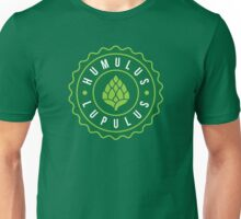 Humulus Lupulus Bottle Cap Graphic Tee Unisex T-Shirt