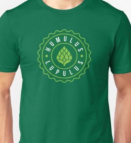 Humulus Lupulus Bottle Cap Graphic Tee Unisex T-Shirt