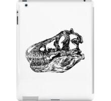Dinosaur: T-Rex - Black Ink iPad Case/Skin