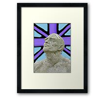 Brit On Framed Print