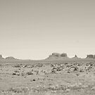 Across Monument Valley by Kent Burton