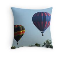 Balloon Launch Throw Pillow