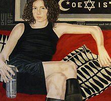 COEXIST #5 -oil on panel, 120x100 cm, 2010 - by Barbara Bonfilio