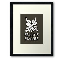 Reilly's Rangers Framed Print