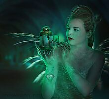 Origin of a crystal soul by Amalia Iuliana Chitulescu