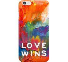 Words Of Sam - Love Wins iPhone Case/Skin