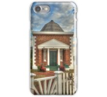 Tebbutt's Observatory with palm & gate iPhone Case/Skin