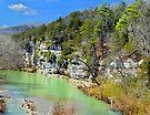 Buffalo River at Hasty, Arkansas by David  Hughes