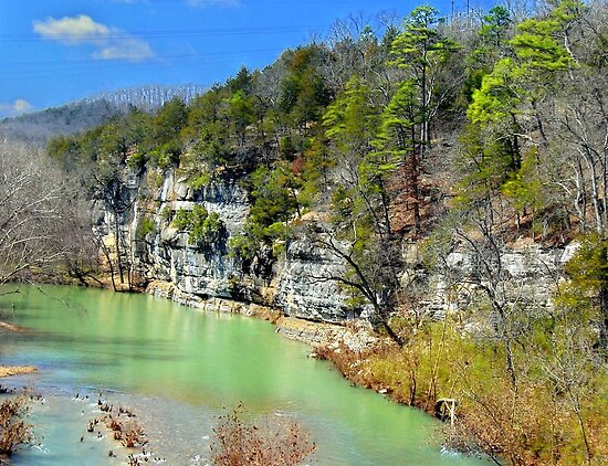 Quot Buffalo River At Hasty Arkansas Quot By David Hughes Redbubble