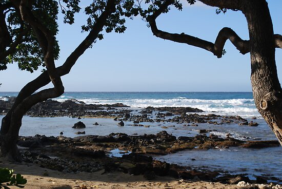 kona beach by LucilleJane