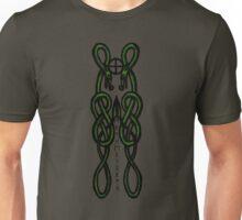 Green Celtic serpents  Unisex T-Shirt