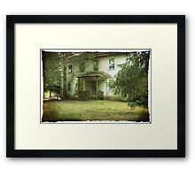 Mazer's House (vacant) Framed Print