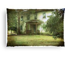 Mazer's House (vacant) Canvas Print