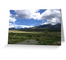 California Peak, Rio Grand National Forest, CO 2010 Greeting Card