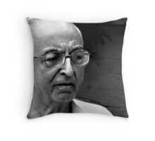 The experienced years  Throw Pillow