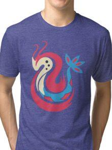 The Beauty - Milotic Tri-blend T-Shirt