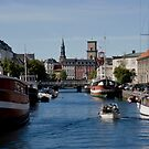 Frederiksholms Canal Copenhagen. by imagic