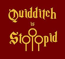 Quidditch is Stoopid by scribbledeath