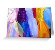 Fairy Dresses Greeting Card