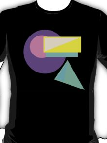 Retro-80s Abstract T-Shirt