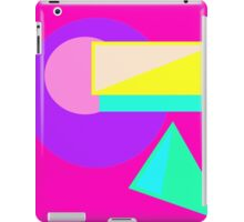 Retro-80s Abstract iPad Case/Skin