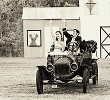 Ford Model T by Claudia Kuhn