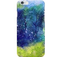 Tree Series - Trees in the Orchard 1 by Heather Holland iPhone Case/Skin