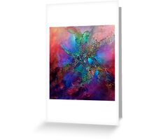 Diving Into Colour Greeting Card