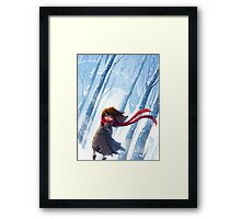 Winter Dragon Framed Print