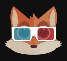 Fox - 3D One Piece - Long Sleeve
