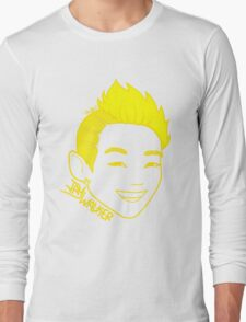 JayWalker (Yellow) Long Sleeve T-Shirt