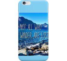 Queenstown Wanderer iPhone Case/Skin