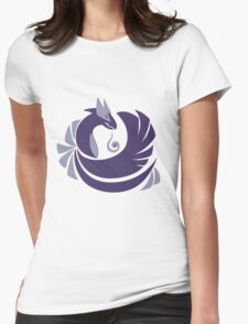 Tainted Silver - Shadow Silver Womens Fitted T-Shirt