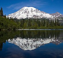 Bench Lake, Mt. Rainier National Park (US) by Barb White