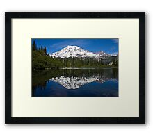 Bench Lake, Mt. Rainier National Park (US) Framed Print
