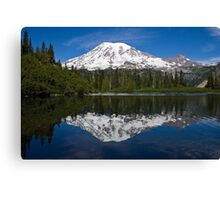 Bench Lake, Mt. Rainier National Park (US) Canvas Print