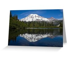 Bench Lake, Mt. Rainier National Park (US) Greeting Card