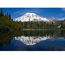Bench Lake, Mt. Rainier National Park (US) Photographic Print