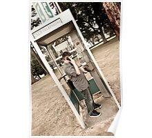 Phone booth Poster