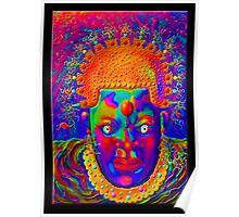 'Art Nouveau Boogie Man', Mask #1 Poster